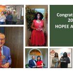 2020 HOPEE Awardees