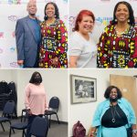 Christ Vision Tribe of Mothers In Crisis, Kwame, Millie, Sharon, Nettie and Rosalind